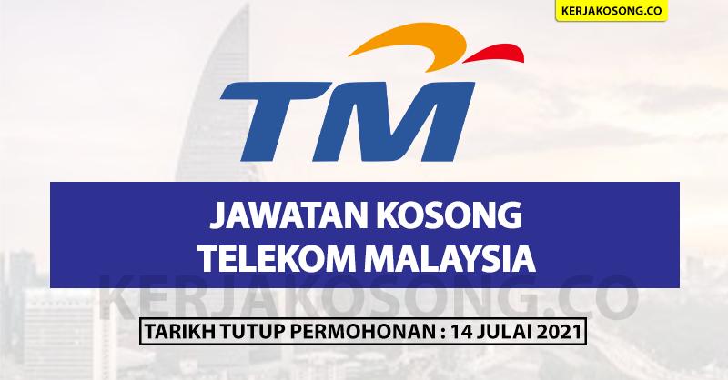 Jawatan Kosong Telekom Malaysia Pelbagai Kekosongan
