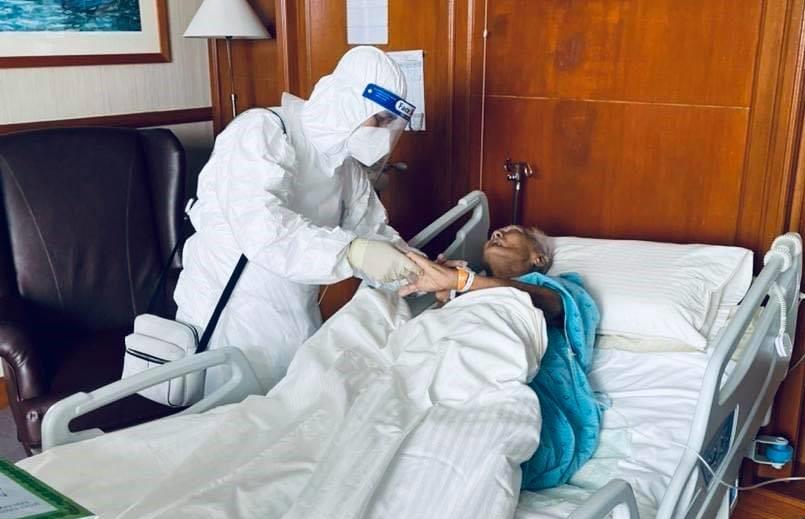 Bapa Ebit Lew menanti hari, kanser sudah merebak